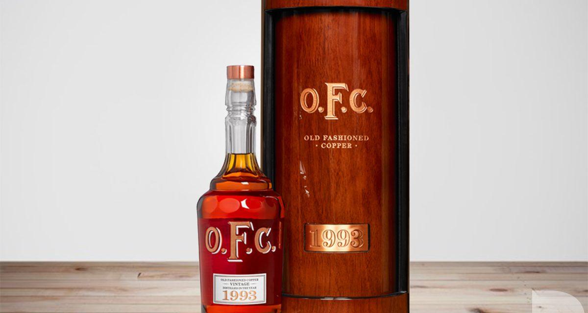 Buffalo Trace lanza un Bourbon de 25 años, Buffalo Trace OFC Vintage 1993