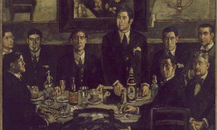 """""""La tertulia del Café de Pombo"""" (1920), de José Gutiérrez Solana"""