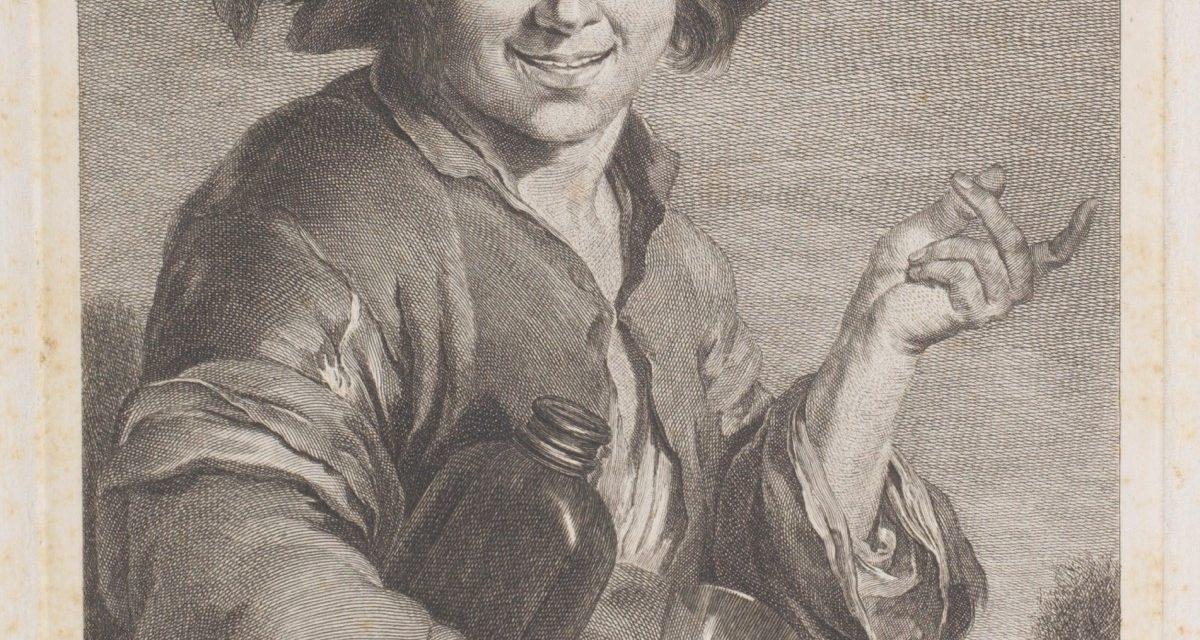 """""""El vinatero"""" (hacia 1768), de Juan Antonio Salvador Carmona"""