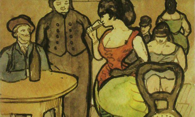 """""""Scene for Vincent"""" (1888), de Émile Bernard"""