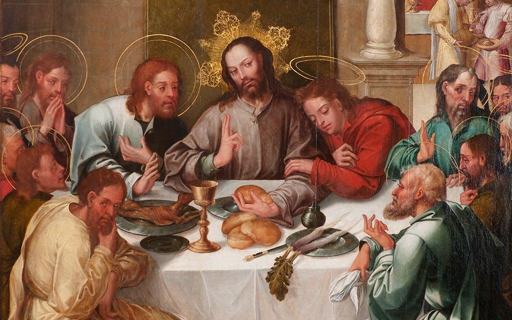 """""""Última Ceia"""" (siglo XVI), de Gregorio Lopes"""