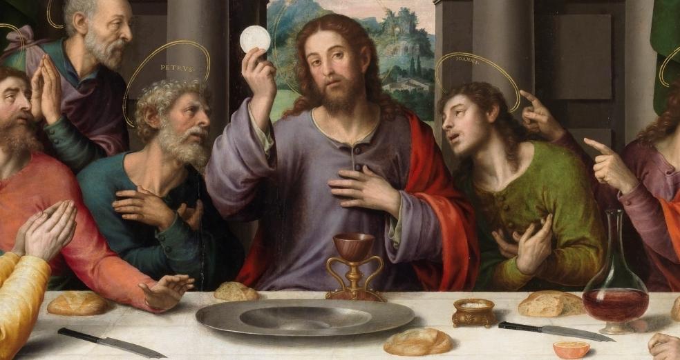 Religioni - Dal sacro al profano  %C3%9Altima_Cena_-_Juan_de_Juanes-2