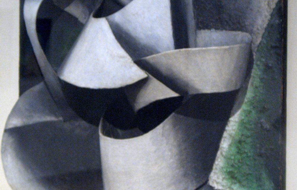 """""""Jarra sobre una mesa"""" (1915), de Liubov Popova"""