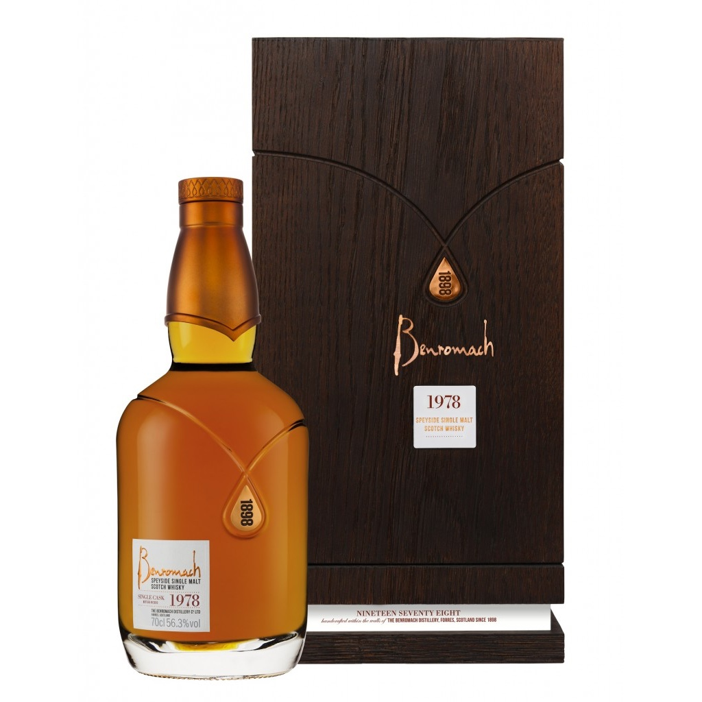 Only 184 bottles of Benromach 1978 have been released globally
