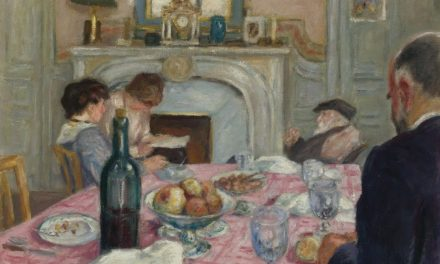 """After Breakfast in Renoir's house"" (1917), de Albert André"