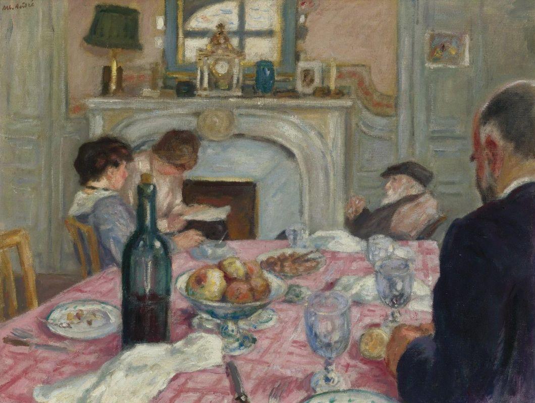 After Breakfast in Renoir's house (1917), de Albert André