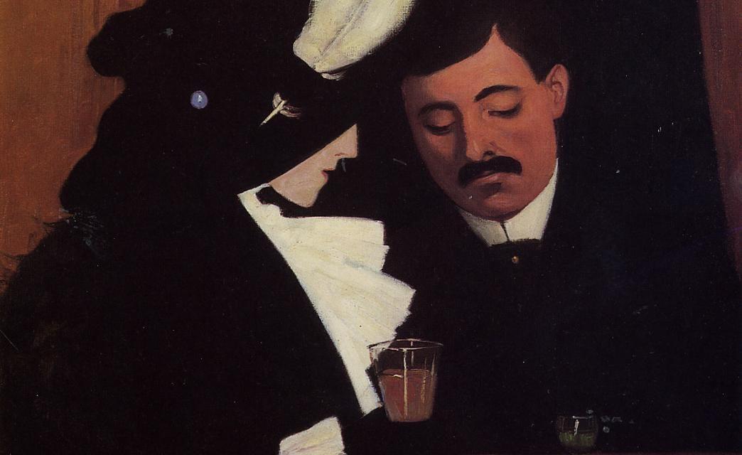 """""""At the Cafe"""" (1909), de Félix Vallotton"""