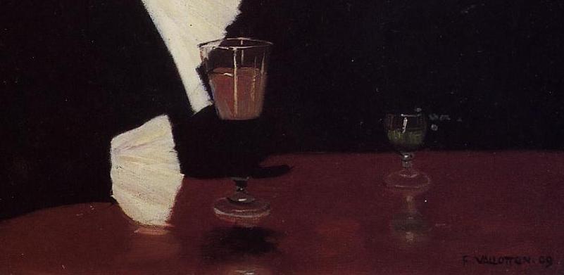 At the Cafe (1909), de Félix Vallotton 2