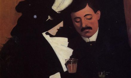 """At the Cafe"" (1909), de Félix Vallotton"