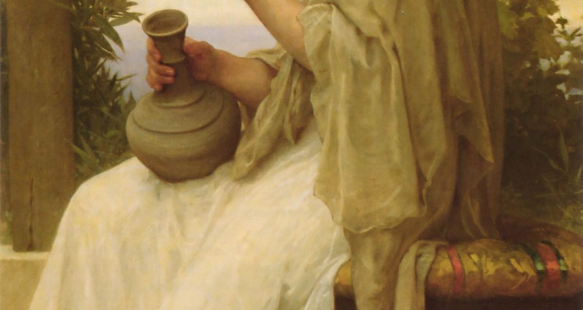 """Bacchante"" (1894), de William Adolphe Bouguereau"