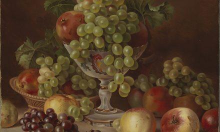 """Bodegón con fruta"" (1865), de Magnus von Wright"