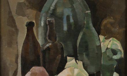 """Bodegón con botellas"" (1921), de Eero Nelimarkka"