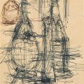 Bodegón con garrafas (1960-65), de Alberto Giacometti