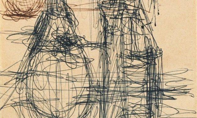 """Bodegón con garrafas"" (1960-1965), de Alberto Giacometti"