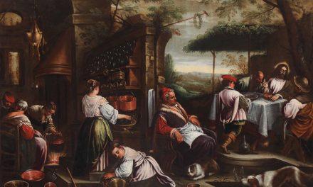 """Cena di Emmaus"" (1538), de Jacopo Bassano"
