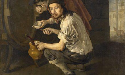 """Chicos con vino"" (siglo XVIII), de Giacomo Ceruti Pitocchetto"