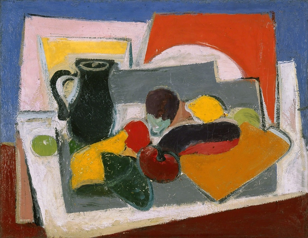 Composition with Vegetables (1928), de Arshile Gorky