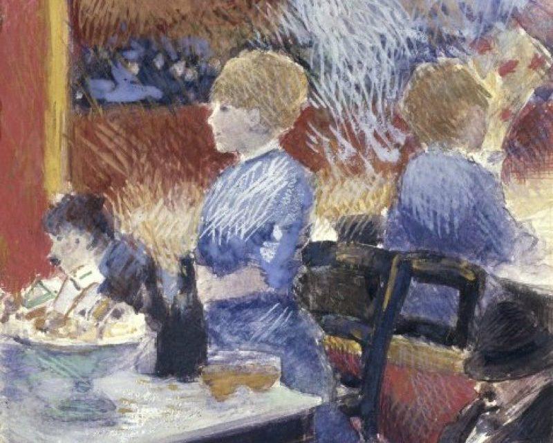 """""""El bar del Folies-Bergère"""" (1878), de Jean-Louis Forain"""