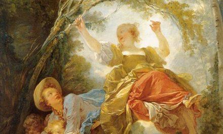 """""""El columpio"""" (hacia 1750 – 1752), de Jean-Honoré Fragonard"""