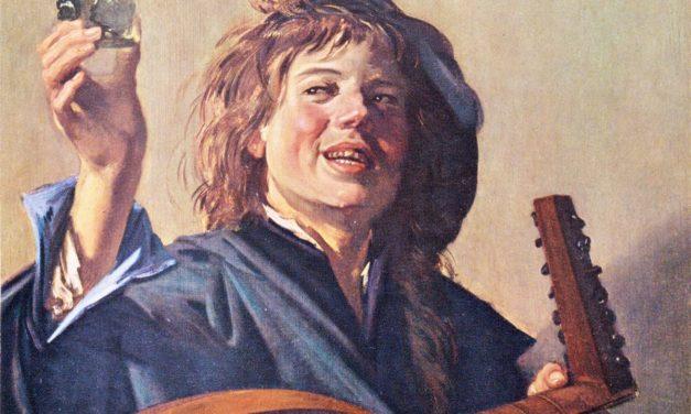 """El músico de laúd feliz"" (1626), de Frans Hals"