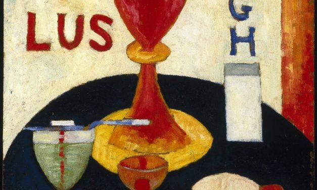 """""""Handsome Drinks"""" (1916), de Marsden Hartley"""