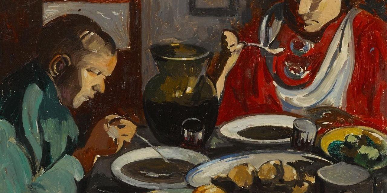 """""""La sopa"""" (siglo XX), de Albert Gleizes"""