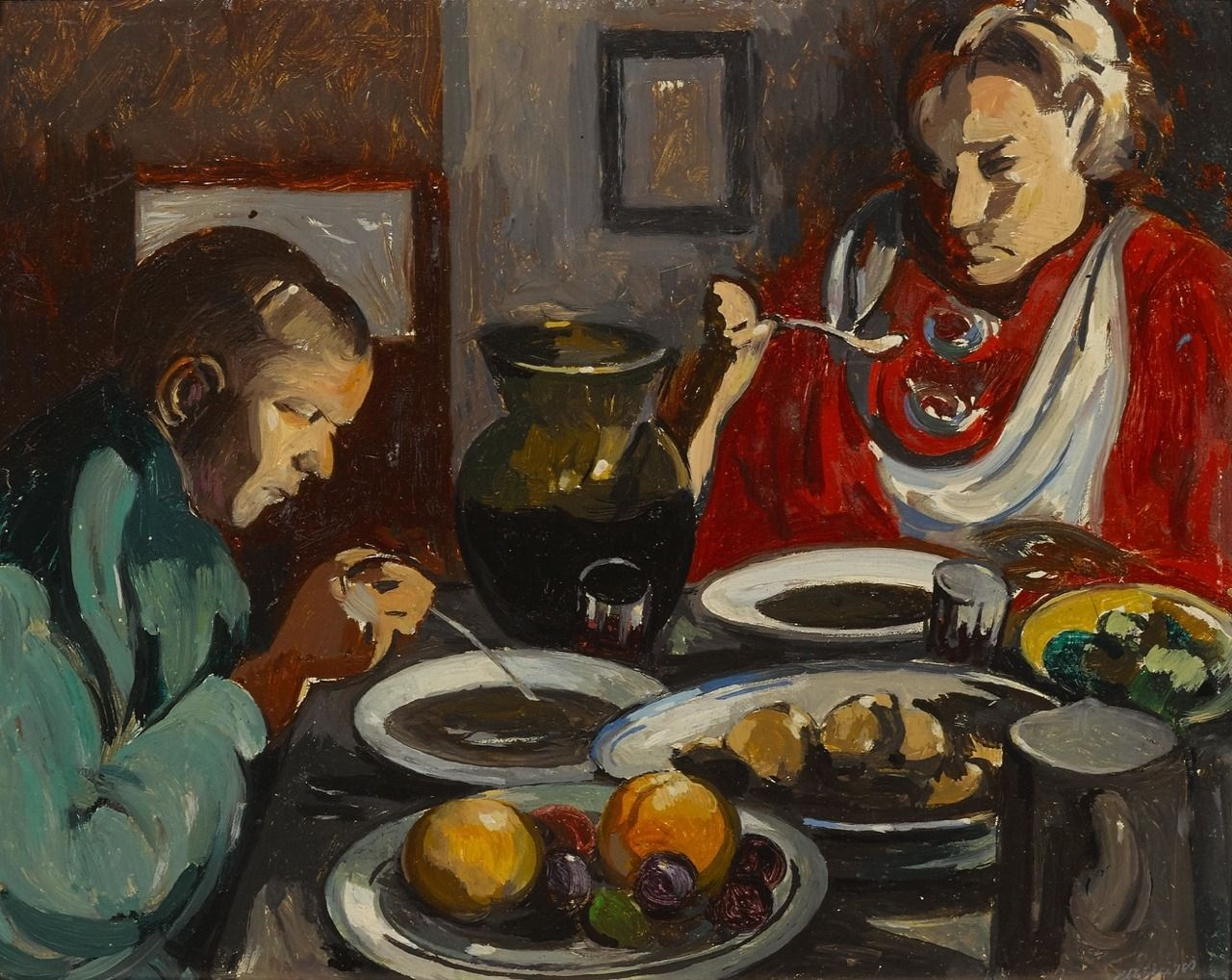 La sopa (siglo XX), de Albert Gleizes