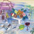 Naturaleza muerta en el jardín (1947), de Raoul Dufy