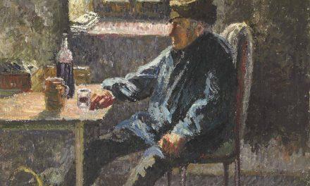 """Old Wingrower, Moret"" (1902), de Camille Pissarro"