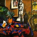Still Life with Pineapple (1909), de Natalia Goncharova