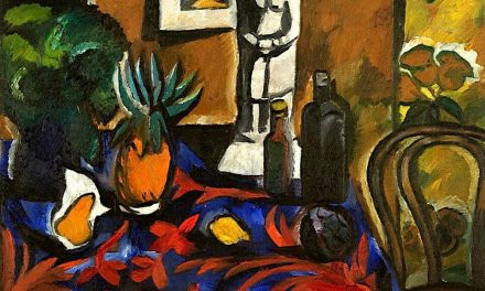 """Still Life with Pineapple"" (1909), de Natalia Goncharova"