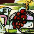 Still Life with a Cup and Grapes (1948), de Emil Filla