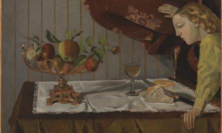"""Still Life with a Figure"" (1940), de Balthus"