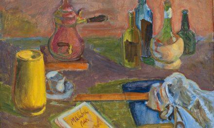 """Still life"" (1947), de Sam Vanni"