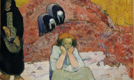 """The Wine Harvest. Human Misery"" (1888), de Paul Gauguin"