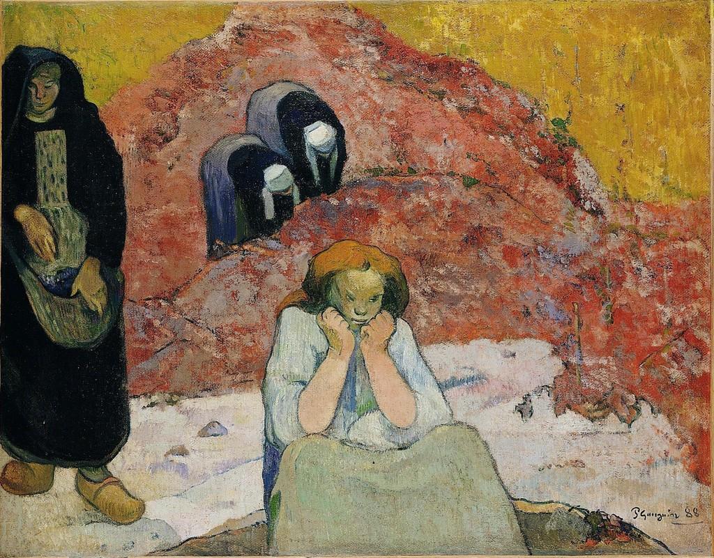 The Wine Harvest. Human Misery (1888), de Paul Gauguin