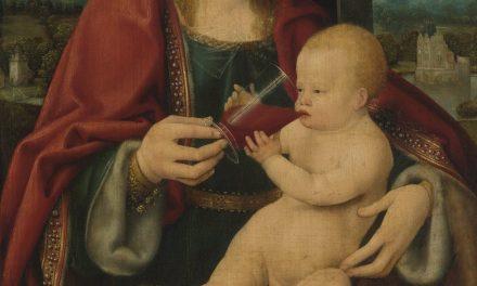 """""""Virgin and Child"""" (1525), de Joos van Cleve"""