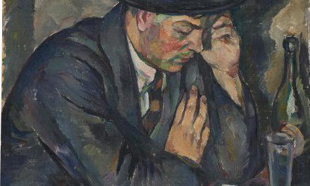 """""""Schackspelaren, Skulptören Arvo Leppänen"""" (1922), de Ilmari Aalto"""