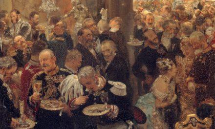 """""""Cena en el baile"""" (1878), de Adolph von Menzel"""