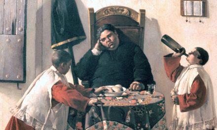 """""""Aprovechar la ocasión"""" (1896), de Felipe Checa"""