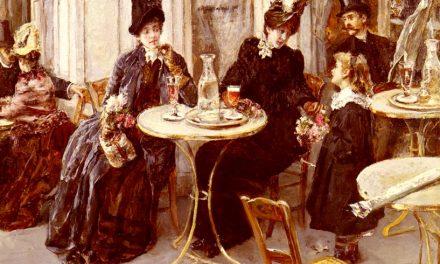 """""""Au café"""" (1884), de Eduardo León Garrido"""