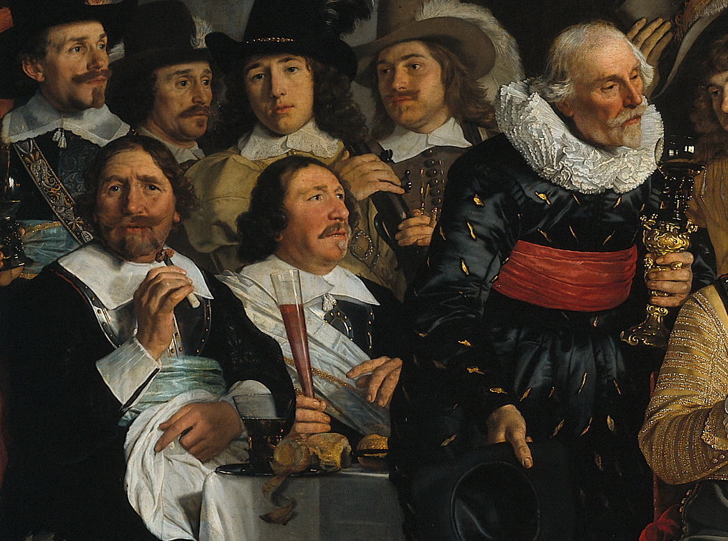 Bartholomeus_van_der_Helst,_Banquet_of_the_Amsterdam_Civic_Guard_in_Celebration_of_the_Peace_of_Münster 2