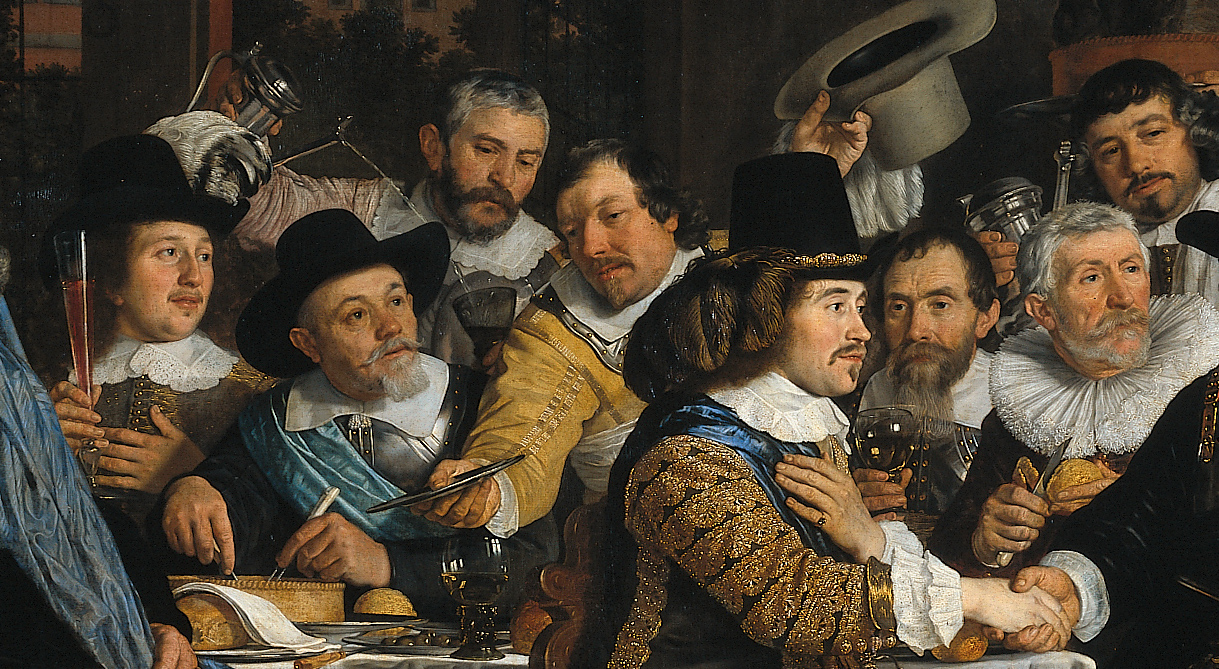 Bartholomeus_van_der_Helst,_Banquet_of_the_Amsterdam_Civic_Guard_in_Celebration_of_the_Peace_of_Münster 3