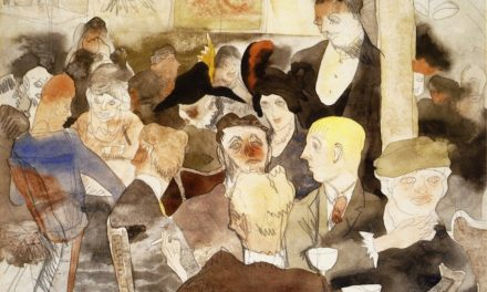 """""""El perrito púrpura"""" (siglo XX), de Charles Demuth"""