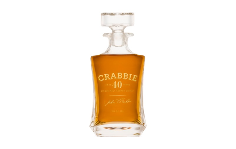 John Crabbie & Co lanza su whisky escocés más antiguo, Crabbie 40 Year Old