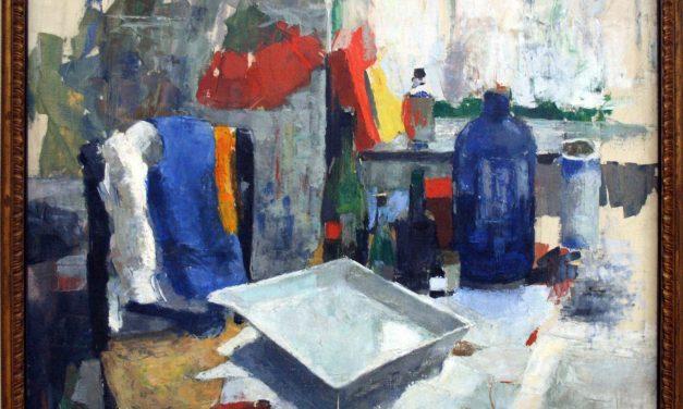 """""""Mesa de comedor"""" (1908), de Rik Wouters"""