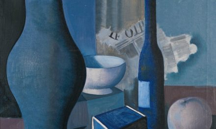 """Still life with boxes"" (1941), de Felix Nussbaum"