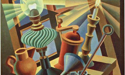 """""""Natura Morta Accesa"""" (1936) de Fortunato Depero"""