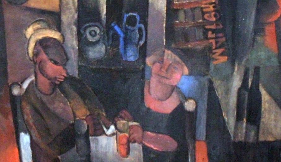 """Maleperduis, su casa en Blaricum"" (1920), de Frits van den Berghe"