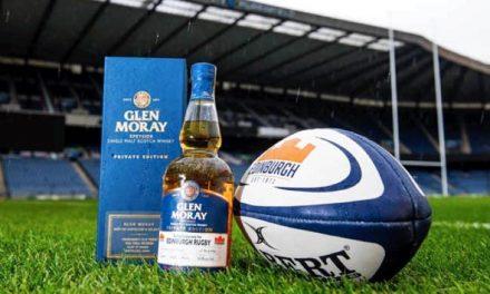 Glen Moray crea Edinburgh Rugby Single Cask Private Edition Whisky